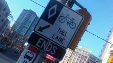 Jarvis Street bike lanes