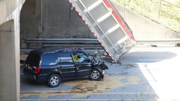 QEW crash