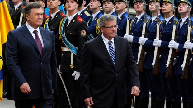 Viktor Yanukovych, Bronislaw Komorowski