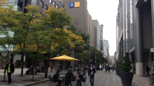The Ryerson University campus is shown in this file photo. (Byron Auburn / CTV Auburn)