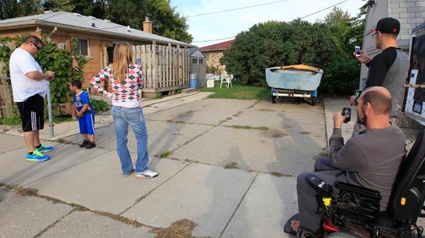 Jimmy Hoffa search in Roseville, Mich.