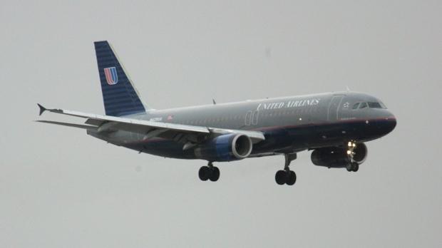 United Airlines flight
