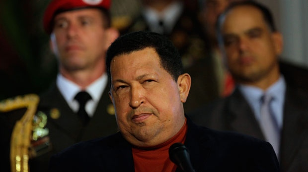 Hugo Chavez ducks questions